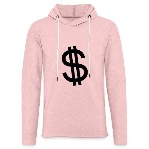 Dollar - Sudadera ligera unisex con capucha