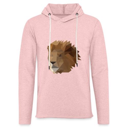 Löwe - Leichtes Kapuzensweatshirt Unisex