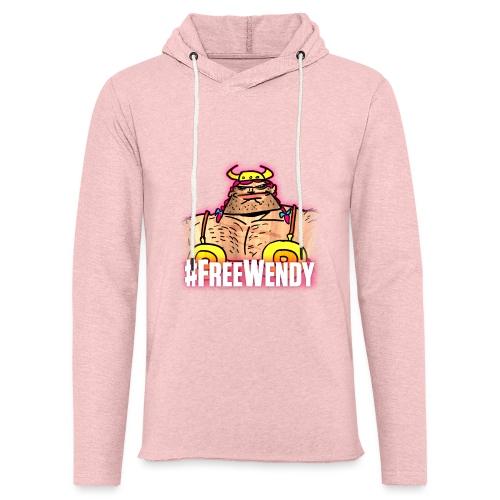 #FreeWendy - Light Unisex Sweatshirt Hoodie