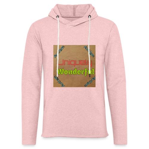 Autism statement - Light Unisex Sweatshirt Hoodie