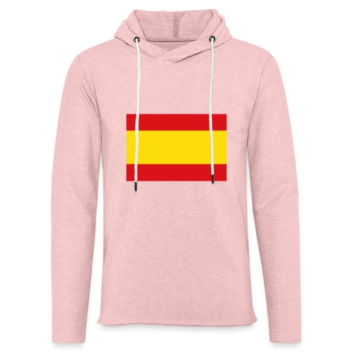 vlag van spanje - Lichte hoodie unisex