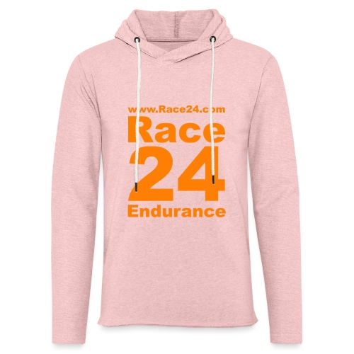 Race24 Logo in Orange - Light Unisex Sweatshirt Hoodie