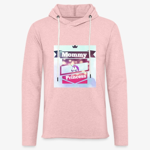Mommy & Princess - Leichtes Kapuzensweatshirt Unisex