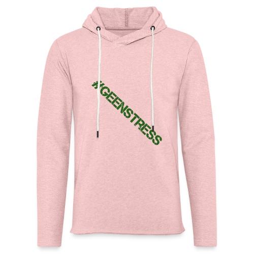 geen stress gif - Lichte hoodie unisex
