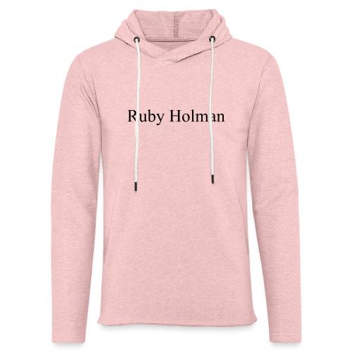 Ruby Holman - Sweat-shirt à capuche léger unisexe