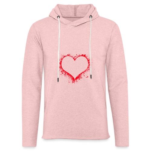 heart 2402086 - Felpa con cappuccio leggera unisex