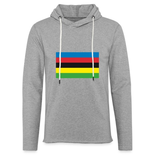 Cycling_World_Champion_Rainbow_Stripes-png - Lichte hoodie unisex