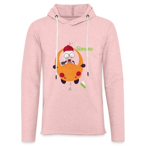 AUTOSIMONE - Sweat-shirt à capuche léger unisexe