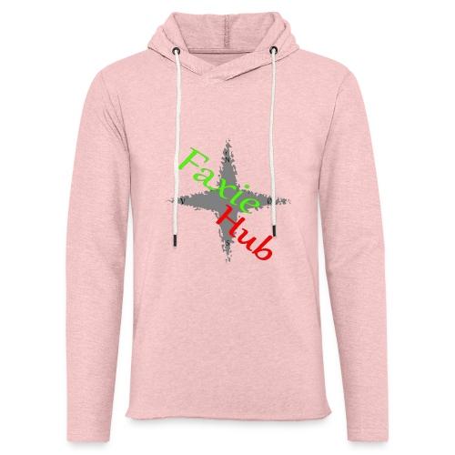 FaxieHub - Let sweatshirt med hætte, unisex