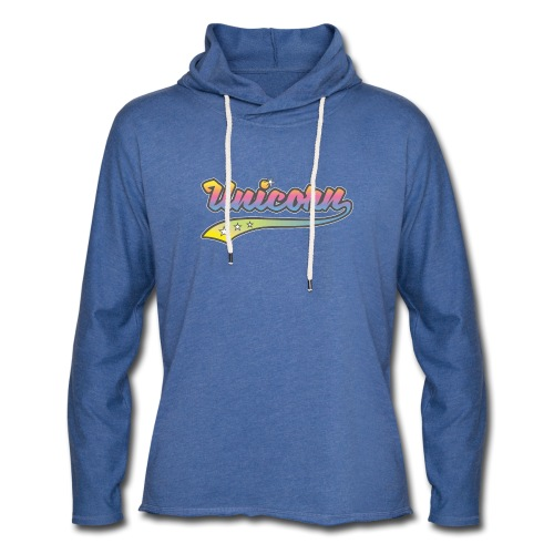 Unicorn Sport - Sweat-shirt à capuche léger unisexe