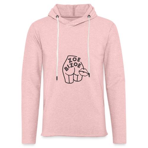 Zoe Bizoe logo - Sweat-shirt à capuche léger unisexe