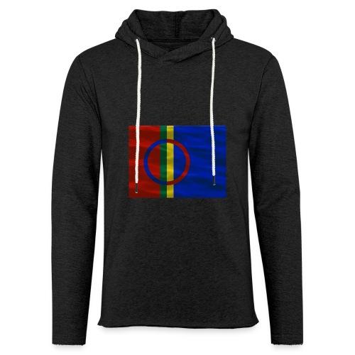 Sapmi flag - Lett unisex hette-sweatshirt