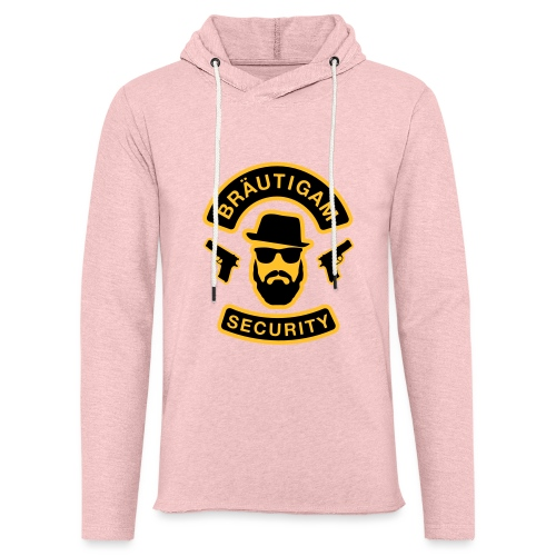 Bräutigam Security - JGA T-Shirt - Bräutigam Shirt - Leichtes Kapuzensweatshirt Unisex