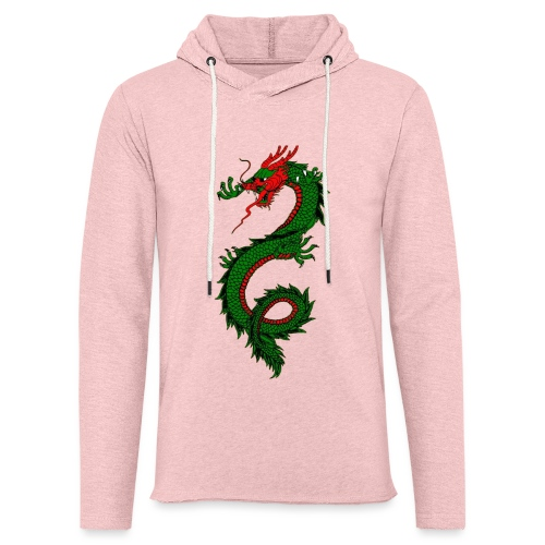 dragon - Felpa con cappuccio leggera unisex