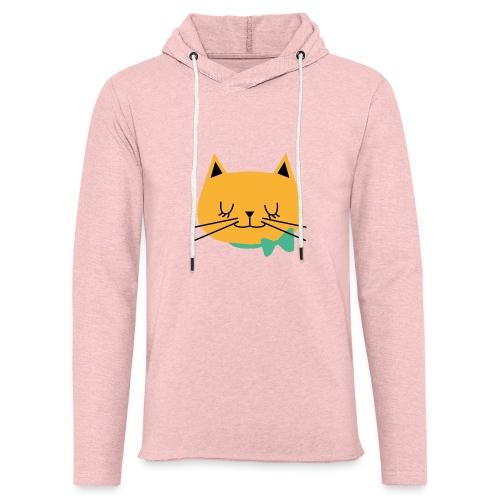 cat - Sweat-shirt à capuche léger unisexe