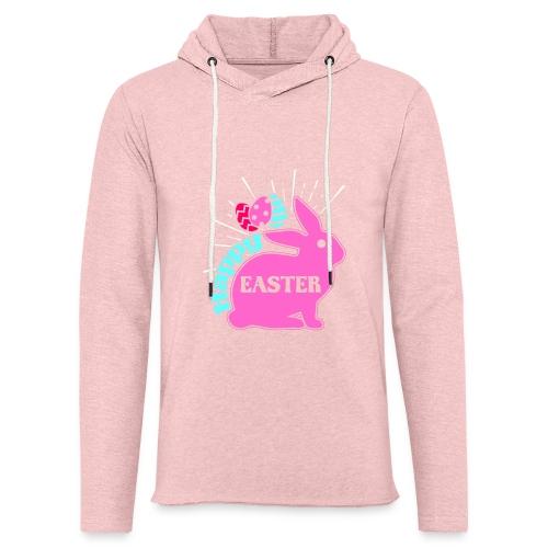 Happy Easter - Frohe Ostern - Leichtes Kapuzensweatshirt Unisex