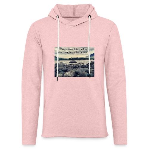 Oceanheart - Lett unisex hette-sweatshirt