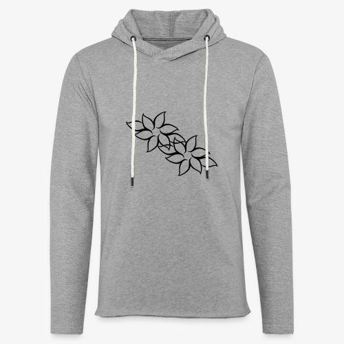 flowers - Let sweatshirt med hætte, unisex