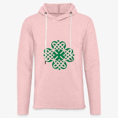 Shamrock Celtic knot decoration patjila - Light Unisex Sweatshirt Hoodie