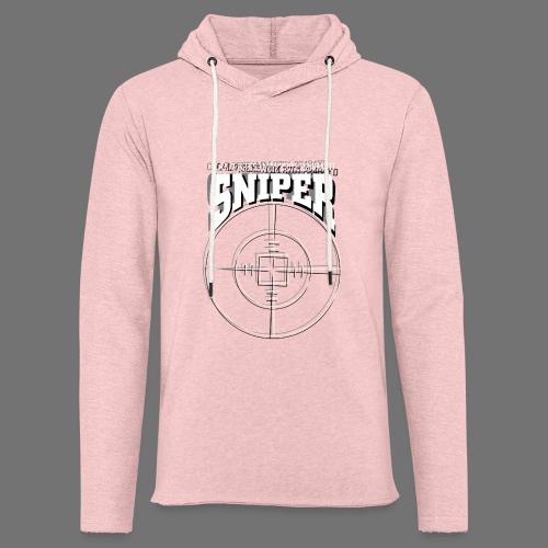 Sniper (white) - Leichtes Kapuzensweatshirt Unisex