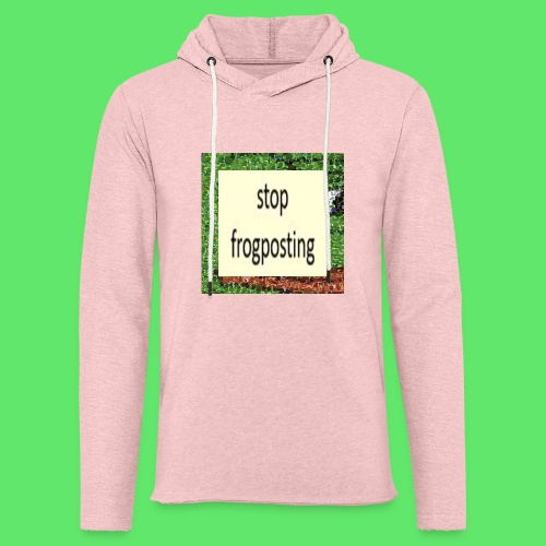 Frogposter - Light Unisex Sweatshirt Hoodie