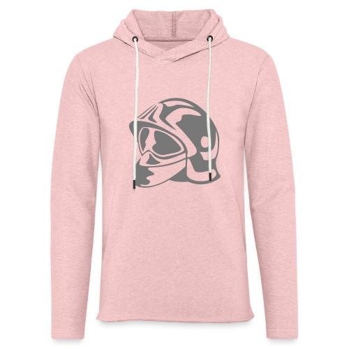 casque_pompier - Sweat-shirt à capuche léger unisexe