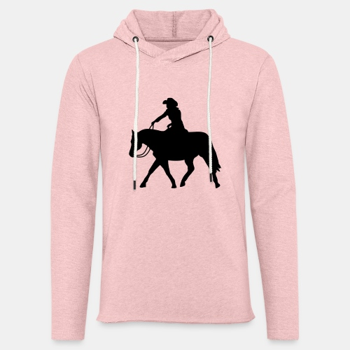 Ranch Riding extendet Trot - Leichtes Kapuzensweatshirt Unisex