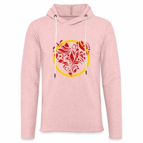 Herzemblem - Leichtes Kapuzensweatshirt Unisex