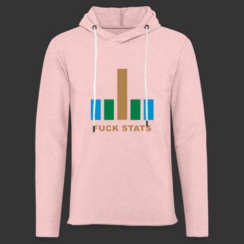 F*CK Stats - Sweat-shirt à capuche léger unisexe