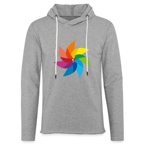 bunte Windmühle Kinderspielzeug Regenbogen Sommer - Light Unisex Sweatshirt Hoodie