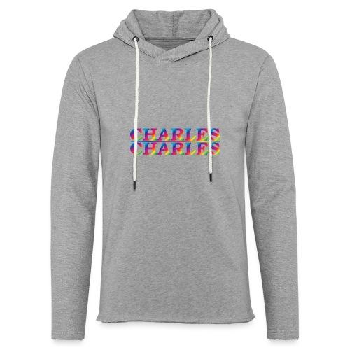 CHARLES rainbow - Light Unisex Sweatshirt Hoodie