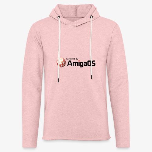 PoweredByAmigaOS Black - Light Unisex Sweatshirt Hoodie
