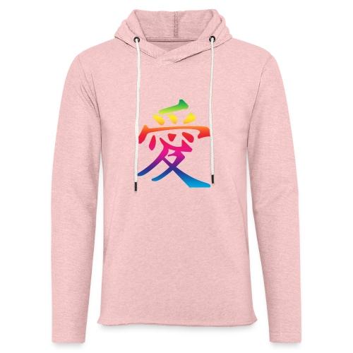 rainbow love chinese - Light Unisex Sweatshirt Hoodie
