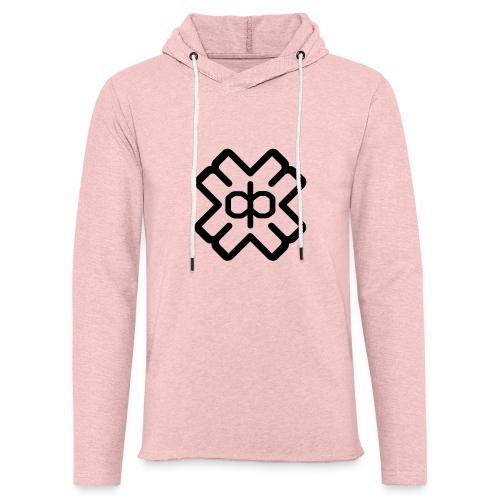 d3ep logo black png - Light Unisex Sweatshirt Hoodie