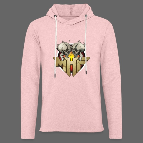 new mhf logo - Light Unisex Sweatshirt Hoodie