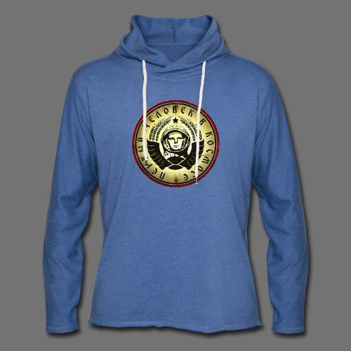 Cosmonaut 4c retro (oldstyle) - Light Unisex Sweatshirt Hoodie