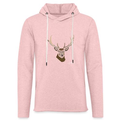 cerf-spread - Sweat-shirt à capuche léger unisexe