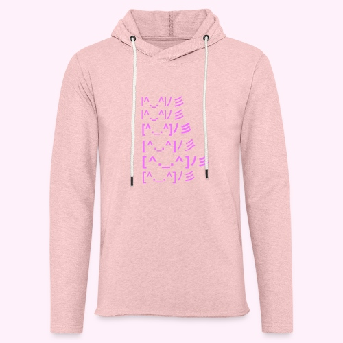 party time - Let sweatshirt med hætte, unisex