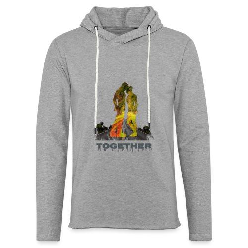 Together - Sweat-shirt à capuche léger unisexe