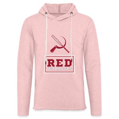 Red Warriors Logo2 - Sweat-shirt à capuche léger unisexe