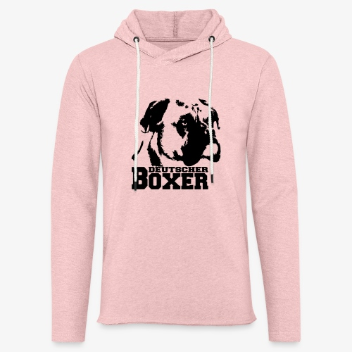 Deutscher Boxer - Leichtes Kapuzensweatshirt Unisex