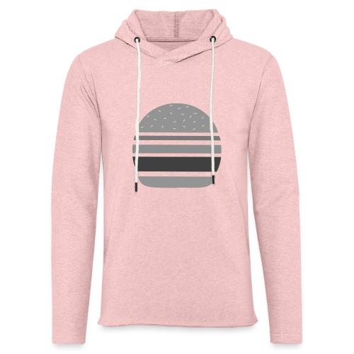 Logo_panhamburger_gris - Sweat-shirt à capuche léger unisexe