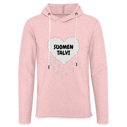 Suomen talvi - Kevyt unisex-huppari