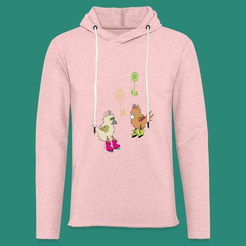 bunte vögel,Colorful birds - Leichtes Kapuzensweatshirt Unisex