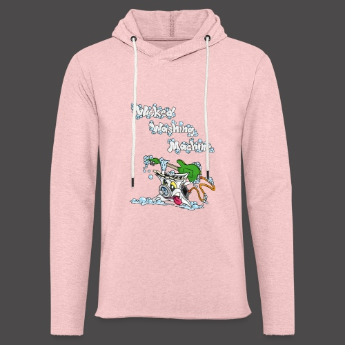 Wicked Washing Machine Cartoon and Logo - Lichte hoodie unisex
