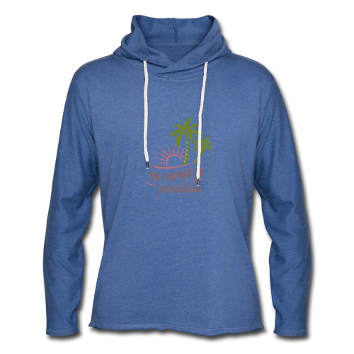 Summer paradise - Light Unisex Sweatshirt Hoodie