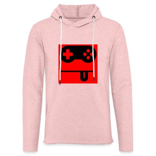 Logo Noobzocker - Leichtes Kapuzensweatshirt Unisex