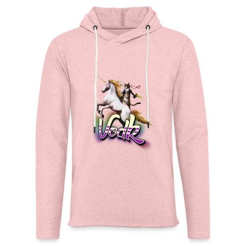 VodK licorne png - Sweat-shirt à capuche léger unisexe