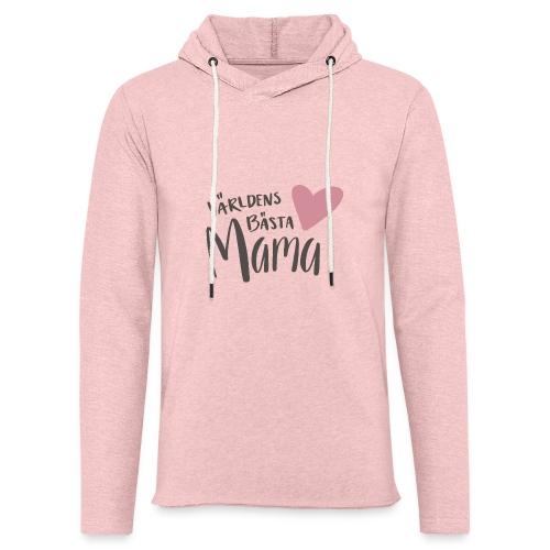 Världens bästa Mama - Lätt luvtröja unisex