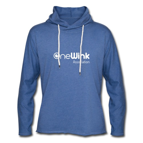 OneWink Association - Sweat-shirt à capuche léger unisexe